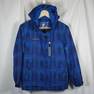 ZeroXposur Fleece Lined Hooded Jacket Size Medium